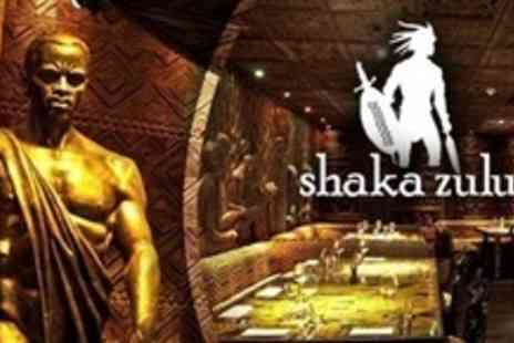Shaka Zulu - Three Courses of Authentic South African Cuisine For One - Save 70%