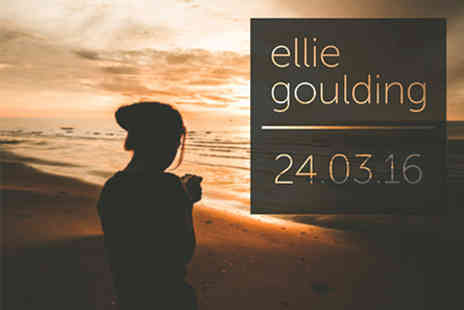 The O2   - Ellie Goulding Live with Pre show Thames River Cruise for Two 24 March 2016 - Save 0%