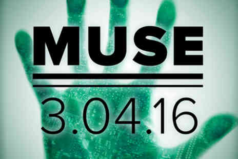The O2   - Muse Live with Pre show Thames River Cruise for Two on 3 April 2016 - Save 0%
