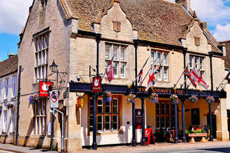 The Snooty Fox  - One Night Cotswolds Inn Break for Two  - Save 0%