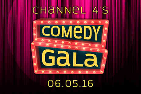 The O2 - Channel 4 Comedy Gala Live at the O2 with Tapas Dinner and Wine for Two - 6 May 2016 - Save 0%