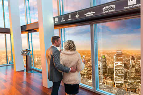 The View - Premium Champagne Experience from The Shard for Two - Save 0%