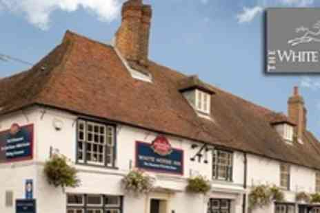 The White Horse Inn - In Canterbury Two Night Stay For Two Adults and One Children With Breakfast - Save 54%