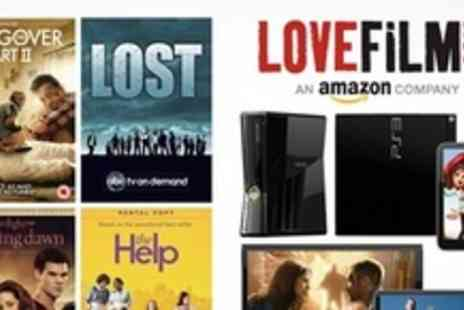 LOVEFiLM - Unlimited DVD Rental and Instant Streaming For Three Months - Save 70%