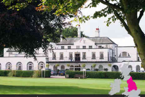 Hawkstone Park Hotel  - Overnight stay in a standard double or twin room with a three course meal with a bottle of wine, breakfast  - Save 45%