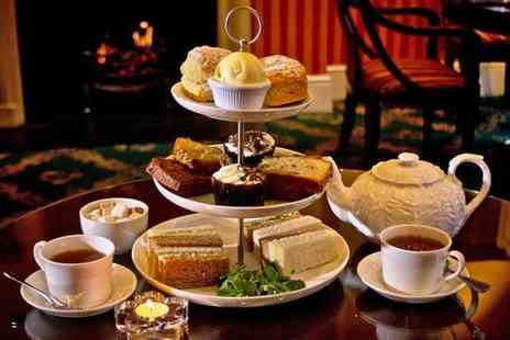 The Leonard Hotel - Afternoon tea for two including Champagne and mini desserts   - Save 44%