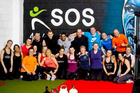 SOS Personal Training - Five or Ten Boot Camp Sessions - Save 74%