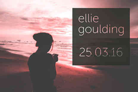 Ellie Goulding - Ellie Goulding Live at the O2 with Pre show Thames River Cruise for Two on 25 March 2016 - Save 0%