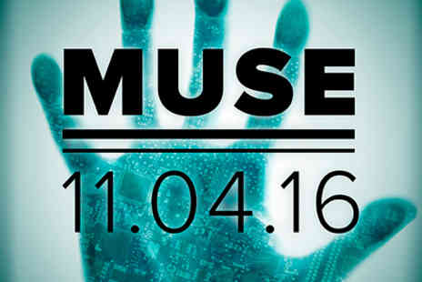 Muse Live - Muse Live at the O2 with Pre show Thames River Cruise for Two on 11 April 2016 - Save 0%