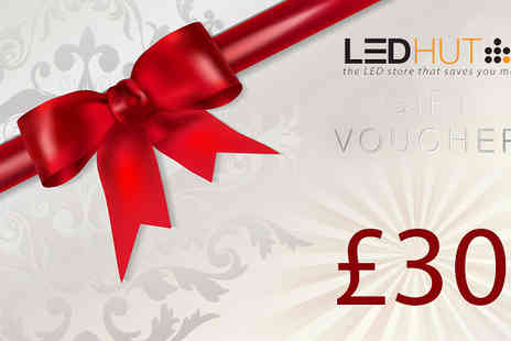 LED Hut - £15 for a £30 Spend at LED Hut - Save 50%