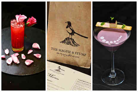 Magpie and Stump - Four cocktails to share between two   - Save 66%