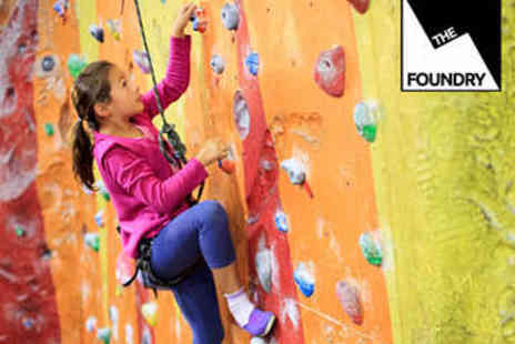 The Foundry Climbing Centre - Indoor Climbing Party for Ten Children - Save 51%