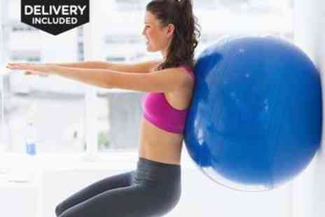 LivingSocial Shop  - Swiss Yoga Ball in a Choice of Colours - Save 55%