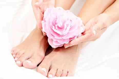 Monika hair and beauty - Manicure, Pedicure, or Both  - Save 44%