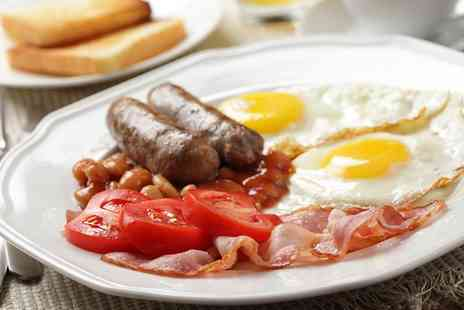 The Tudor House Inn  - Full English Breakfast with a Hot Drink for Two or Four  - Save 0%