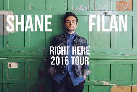 LHG Live - Ticket to Shane Filan Right Here Tour 2016  - Save 0%