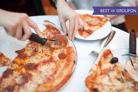 Blue Parrot - Choice of Pizza with Beer or Wine for Two or Four  - Save 52%