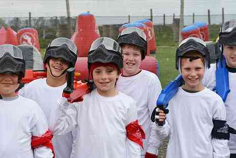 Bedlam Paintball - Two Hour Low Velocity Paintball Party for Up to 12 Kids  - Save 50%