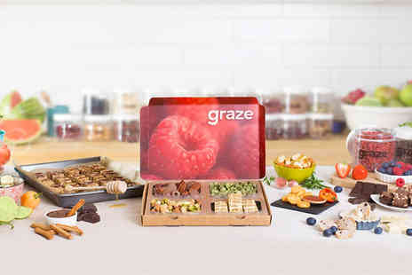 graze - Four Graze Snack Boxes - Save 64%