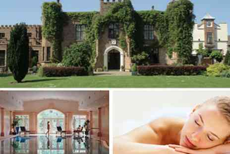 Crabwall Manor and Spa - £25 Spa Day with Choice of Massage Treatment and Glass of Bubbly - Save 56%