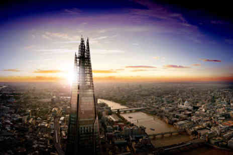 Marco Pierre Whites - The View from The Shard with a Three Course Meal for Two  - Save 0%