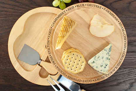Connoisseur - Connoisseur Cheese Board Set - Save 0%