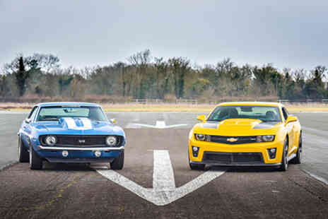 American Muscle - Double American Muscle Car Blast plus High Speed Passenger Ride - Save 0%