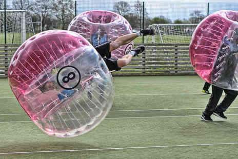Xtreme Soccer - One hour zorb football session for up to 15 players - Save 68%