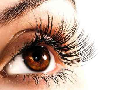 Quattro Lounge - Full Set of Eyelash Extensions with an Optional Eyebrow Wax and Tint - Save 57%