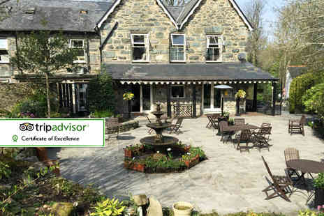 Bryn Artro Country House - One or Two Nights stay for two with a Welsh breakfast  - Save 41%