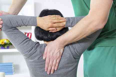 Healthy Back - Three Osteopathy Sessions with a Consultation  - Save 78%