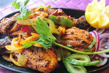 The Moghul - Two Course Indian Meal for Two - Save 48%