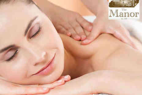 The Manor  - Spa Day Pass with Treatment - Save 53%