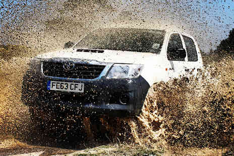 True Grip Off Road - One hour off roading experience for two  - Save 0%
