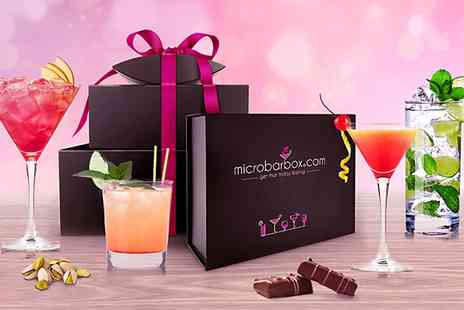 MicroBarBox  -  Monthly Cocktail Club Subscription Plus £5 Online Shop Voucher   - Save 58%