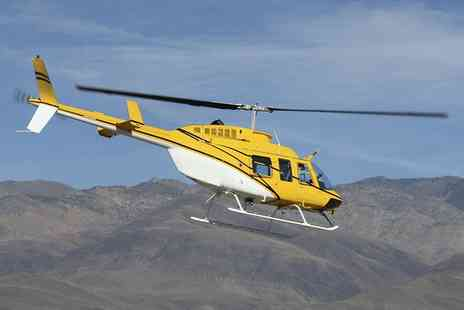 Whizzard Helicopters - Helicopter Buzz Flight Flight, City Tour or Pilot Experience for One or Two  - Save 45%