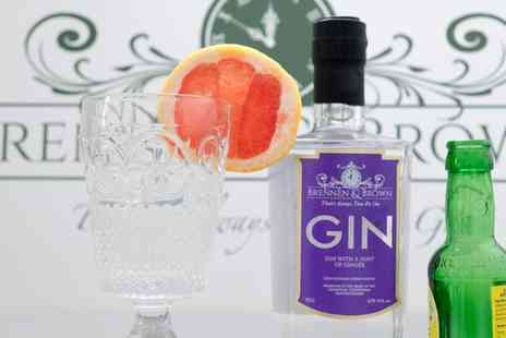 Brennan and Brown - Gin Making Experience for One or Two  - Save 53%
