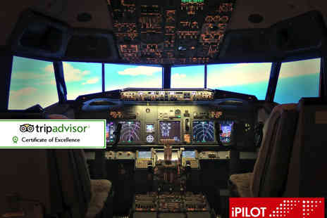 iPILOT -  20 minute Boeing 737 flight simulation experience  - Save 61%
