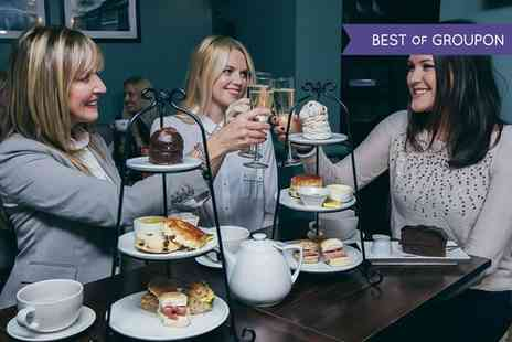 The Coffee Trader - Afternoon Tea with Prosecco for Two - Save 0%