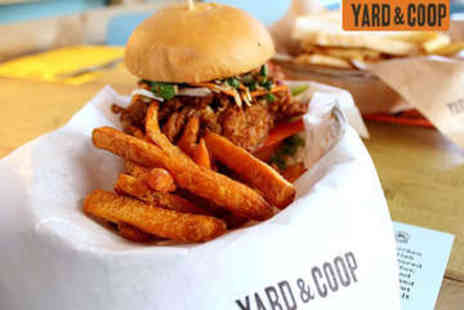 Yard & Coop - Lunch with Drink for Two - Save 40%