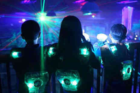 The Zone - Laser Tag with Burger and Drink for Two - Save 50%