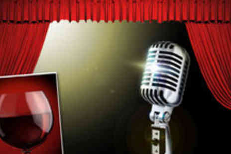 Hot Water Comedy Club - Two Friday night tickets to Hot Water Comedy Club, plus a glass of wine each - Save 64%