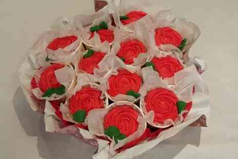 Lux Cake - 12 Cupcake Bouquet - Save 0%