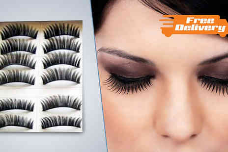 Beautyfit - Pack of 20 Reusable Eyelashes - Save 82%