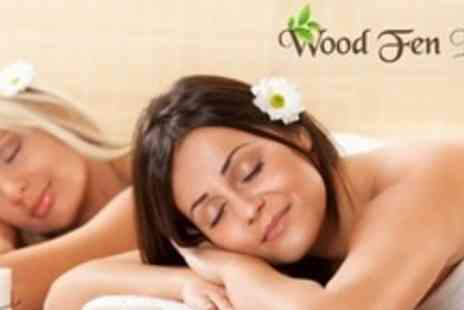 Wood Fen Lodge - Spa Day For Two With Lunch and Refreshments - Save 80%