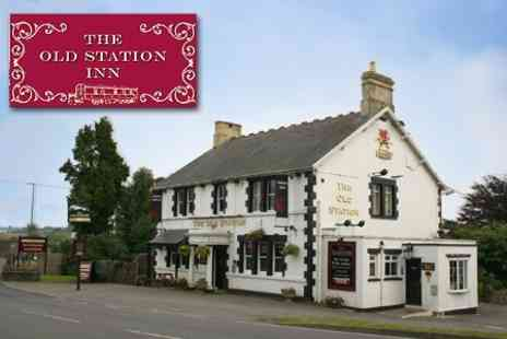 The Old Station Inn - One Night Stay For Two With Bottle of Wine for £27.80 - Save 60%