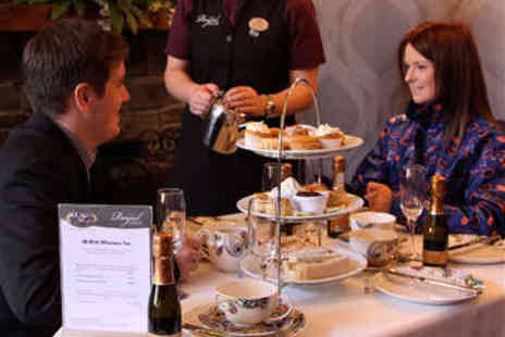 The Royal Hotel - Champagne Afternoon Tea for Two - Save 25%