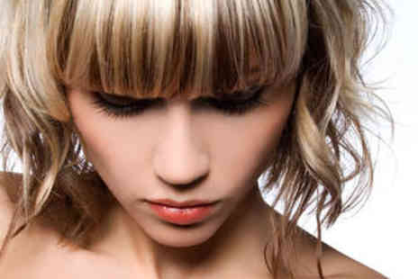 At Hair & Beauty - Haircut, Blow Dry, Treatment and Colour - Save 76%