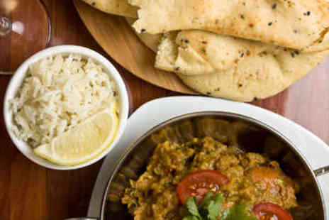 Midnight Moon - £20 to Spend on Indian Food and Drink Between Two - Save 50%