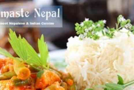 Namaste Nepal - Two Courses of Nepalese or Indian Fare For Two - Save 54%